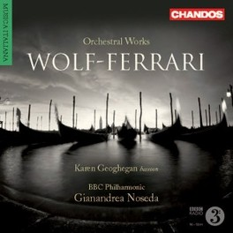 ORCHESTRAL WORKS NOSEDA Audio CD, WOLF-FERRARI, E., CD