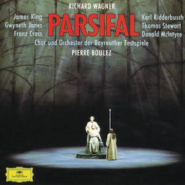 PARSIFAL W/KING, JONES, CRASS, PIERRE BOULEZ Audio CD, R. WAGNER, CD