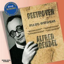 PIANO SONATAS 8,14,23,26 W/ALFRED BRENDEL Audio CD, L. VAN BEETHOVEN, CD
