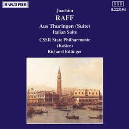 ITALIAN SUITE/FROM THURIN CSSR STATE PO/EDLINGER J.J. RAFF, CD