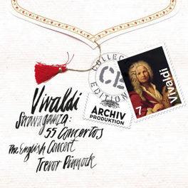 STRAVAGANZA:55 CONCERTOS T.C.O./TREVOR PINNOCK A. VIVALDI, CD