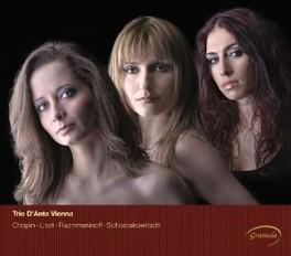 TRIOS -CD+DVD- TRIO D'ANTE VIENNA, CD