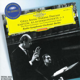 PIANO CONCERTOS 1-3 ANDA/RSO BERLIN/FERENC FRICSAY Audio CD, B. BARTOK, CD