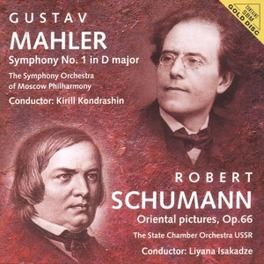 SYMPHONY NO.1 IN D MAJOR SYMPHONY ORCH.OF MOSCOW PHIL. Audio CD, MAHLER/SCHUMANN, CD