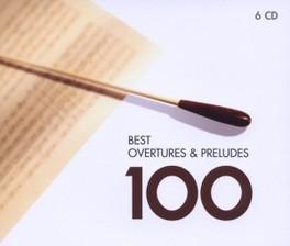 100 BEST OVERTURES V/A, CD