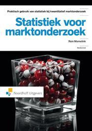 Statistiek voor marktonderzoek praktisch gebruik van statistiek bij kwalitatief marktonderzoek, Rein Memelink, Hardcover
