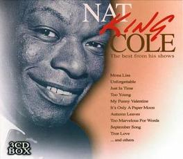 BEST FROM HIS SHOWS Audio CD, NAT KING COLE, CD