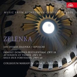 IMMISIT DOMINUS PESTILENT COLLEGIUM MARIANUM/J.SEMERADOVA J.D. ZELENKA, CD