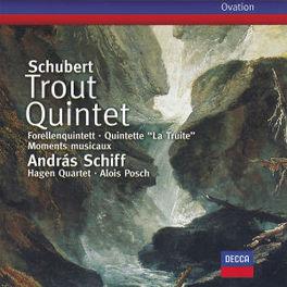 TROUT QUINTET/MOMENTS MUS ...MUSICAUX/W/HAGEN QUARTETT, SCHIFF Audio CD, F. SCHUBERT, CD