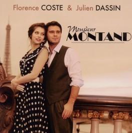 MONSIEUR MONTAND W/JULIEN DASSIN FLORENCE COSTE, CD