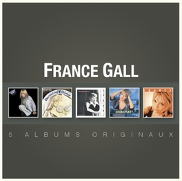 ORIGINAL ALBUM SERIES *FRANCE GALL/DANCING DISCO/PARIS FRANCE/DEBRANCHE/FRANC FRANCE GALL, CD
