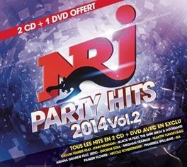 NRJ PARTY HITS 2 -CD+DVD- 2CD+DVD V/A, CD