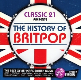 CLASSIC 21:HISTORY OF.. .. BRITPOP V/A, CD