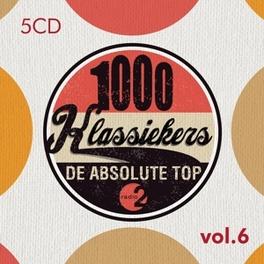 RADIO 2:1000..VOL.6 .. KLASSIEKERS VOL.6 V/A, CD