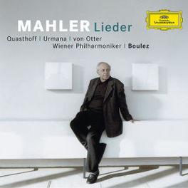 LIEDER WIENER P.O./PIERRE BOULEZ/VON OTTER Audio CD, G. MAHLER, CD