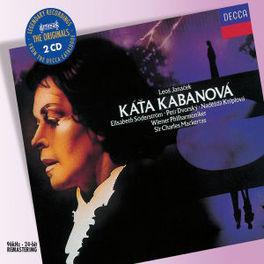 KATA KABANOVA WIENER PHIL./CHARLES MACKERRAS Audio CD, L. JANACEK, CD