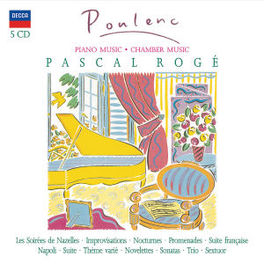 SOLO PIANO & CHAMBER WORK W/PASCAL ROGE Audio CD, F. POULENC, CD