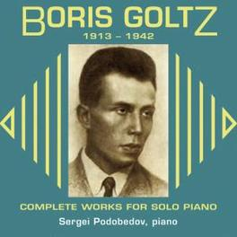 COMPLETE WORKS FOR SOLO P SERGEI PODOBEDOV Audio CD, B. GOLTZ, CD