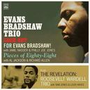 EVANS BRADSHAW TRIO +.. .. ROOSEVELT WARDELL TRIO // 3LP'S ON 2CD'S.