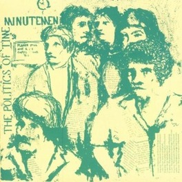 POLITICS OF TIME MINUTEMEN, Vinyl LP