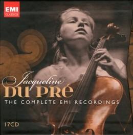 COMPLETE EMI RECORDINGS BARENBOIM/ZUKERMAN/BARBIROLLI JACQUELINE DU PRE, CD