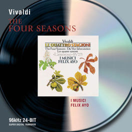 FOUR SEASONS/L'AMOROSO W/AYO, I MUSICI Audio CD, A. VIVALDI, CD