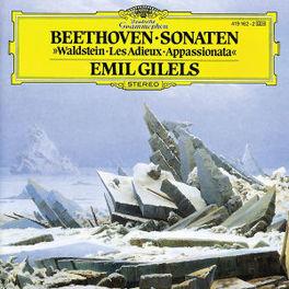 PIANO SONATAS WALDSTEIN/A APPASIONATA/LES ADIEUX W/ EMIL GILELS Audio CD, L. VAN BEETHOVEN, CD