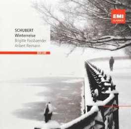 DIE WINTERREISE BRIGITTE FASSBAENDER F. SCHUBERT, CD