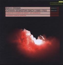 BACH DRAMA -CD+DVD- CHOEUR DE CHAMBRE DE NAMUR/LEONARDO ALARCON J.S. BACH, CD