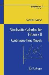Stochastic calculus for finance: II continuous time models