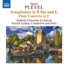 SYMPHONIES/FLUTE CONCERTO SINFONIA FINLANDIA JYVASKYLA I. PLEYEL, CD