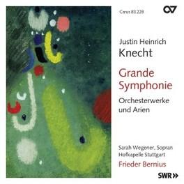 GRAND.. HOFKAPELLE STUTTGART/F.BERNIUS J.H. KNECHT, CD