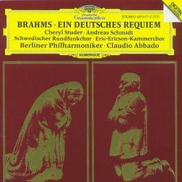 EIN DEUTSCHE REQUIEM BP/ABBADO Audio CD, J. BRAHMS, CD