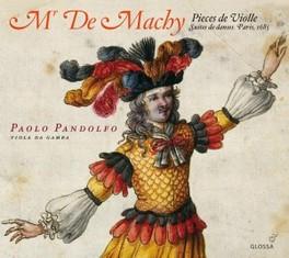 PIECES DE VIOLE PAOLO PANDOLFO MACHY, CD