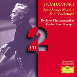 SYMPHONIES 4,5 & 6 BP/KARAJAN Audio CD, P.I. TCHAIKOVSKY, CD
