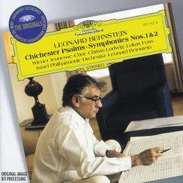 CHICHESTER PSALMS/SYM.1&2 W/WIENER JEUNESS-CHOR, CHRISTA LUDWIG, ISRAEL PHIL.ORCH Audio CD, L. BERNSTEIN, CD
