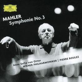 SYMPHONY NO.3 -SACD- VIENNA P.O./PIERRE BOULEZ Audio CD, G. MAHLER, CD