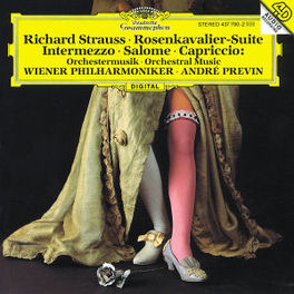 ORCHESTERMUSIK WP PREVIN R. STRAUSS, CD