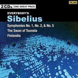 EVERYBODY'S CLASSICS ATLANTA S.O./CLEVELAND S.O./LEVI Audio CD, J. SIBELIUS, CD