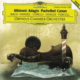 ADAGIO G-MOLL ORPHEUS CHAM.ORCH. Audio CD, BACH/HANDEL/CORELLI/VIVAL, CD