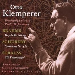 VARIATIONS ON A THEME BY AMSTERDAM CONCERTGEBOUW ORCHESTRA Audio CD, BRAHMS/SCHUBERT, CD