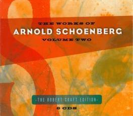 WORKS OF VOL.2 ROBERT CRAFT A. SCHOENBERG, CD