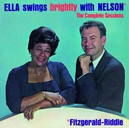ELLA SWINGS BRIGHTLY.. .. WITH NELSON ELLA FITZGERALD, CD