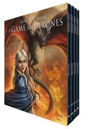 GAME OF THRONES BOX 03. VERZAMELCASSETTE MET DEEL 9-12 GAME OF THRONES BOX, Hardcover