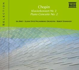PIANO CONCERTO NO.2 SLOVAK P.O./STANKOVSKY/BIRET F. CHOPIN, CD