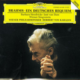 EIN DEUTSCHES REQUIEM WP/KARAJAN Audio CD, J. BRAHMS, CD