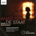 ANAIS NIN/DE STAAT LONDON SINFONIETTA/D.ATHERTON