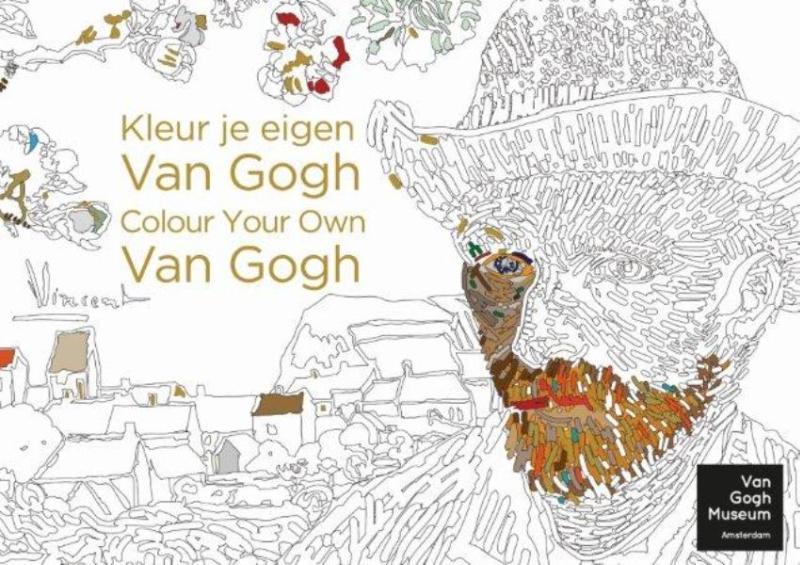 Kleur je eigen van Gogh-Colour your own van Gogh