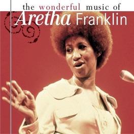 WONDERFUL MUSIC OF ARETHA FRANKLIN, CD