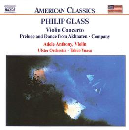 VIOLIN CONCERTO ULSTER ORCHESTRA PHILIP GLASS, CD